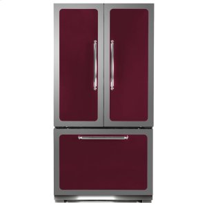Cranberry Classic French Door Refrigerator - CRANBERRY