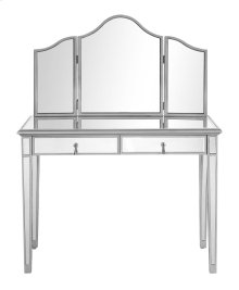 "Mirror 39"" x 1"" x 24"" & Console Table 42"" x 18"" x 31"""