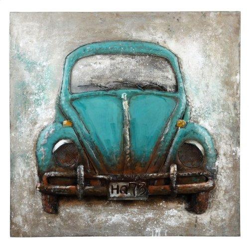 Blue Beetle Wall Décor