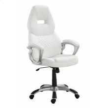 Contemporary White Office Chair