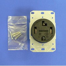Electrical receptacle #RR430F (NEMA 14-30R)