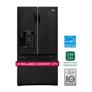 LG Appliances27 cu. ft. French Door Refrigerator