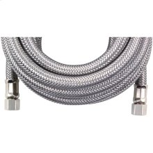 Braided Stainless Steel Ice Maker Connector (25ft)