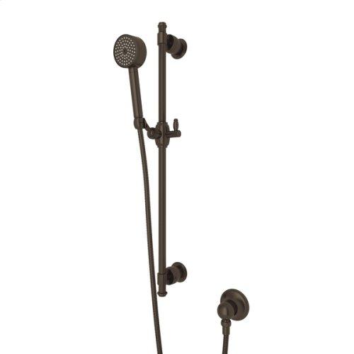 Tuscan Brass Michael Berman Zephyr Single-Function Handshower Set