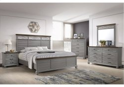 1059 Bellebrooke King Bed with Dresser and Mirror
