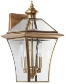 Virginia Double Light Sconce - Brass Lamp Product Image