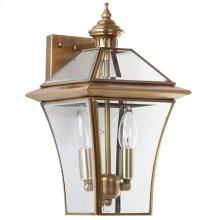 Virginia Double Light Sconce - Brass Lamp
