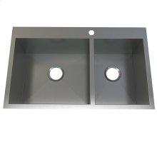 Atelier stainless steel 1 1/2 bowl - flushmount