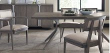 Palmer Modern Trestle Driftwood Dining Table