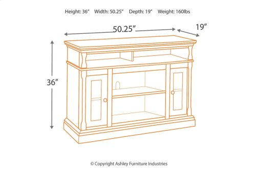 MED TV Stand w/FRPL/Audio OPT