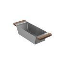 Colander 205038 - Walnut Fireclay sink accessory , Walnut Product Image