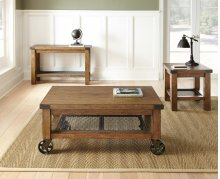 """Hailee Cocktail Table w/Caster, 48""""x28""""x20"""""""