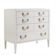 Charleston Regency - Beaufain Bachelorette's Chest In Ropemaker's White