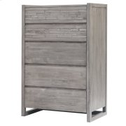 Callisto Chest with 5 Drawers, Weathered Gray Product Image