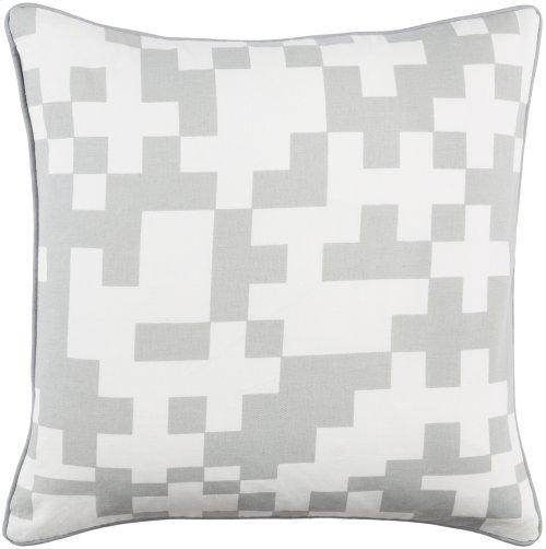 "Inga INGA-7020 18"" x 18"" Pillow Shell with Polyester Insert"