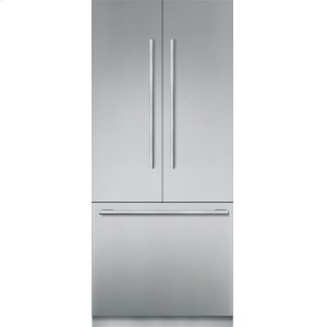 THERMADOR36 inch Stainless Steel Built In French Door bottom Freezer, Pre-Assembled, Masterpiece(R) Handle T36BT910NS