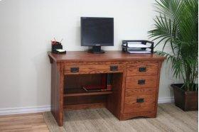 """O-M642 Mission Oak 50"""" 3-Drawer Student Computer Desk"""