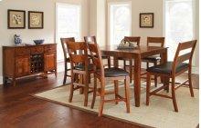 """Mango Counter Chair, Light Oak 19""""x22""""x43"""""""