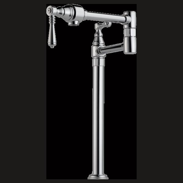 Traditional Deck Mount Pot Filler Faucet