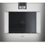 "Gaggenau400 series 400 series oven Stainless steel-backed full glass door Width 30"" (76 cm) Left-hinged Controls on top"