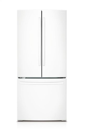 RF220NCTAWW 30 Inch 21.6 cu.ft 3-Door French Door Refrigerator White
