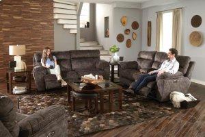 Power Headrest w/Lumbar Lay Flat Reclining Sofa