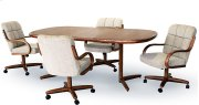 Table Base: Twin Legs (walnut) Product Image