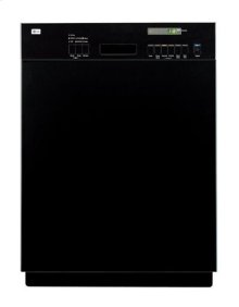 Semi-Integrated Dishwasher with Easy-Access Controls and Visible Status Display