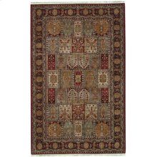 Bakhtiyari Multi Rectangle 4ft 3in X 6ft