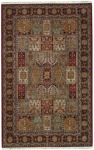 Bakhtiyari Multi Rectangle 5ft 9in X 9ft