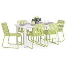 0100 Series 7PC Dining Set Apple