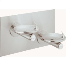 Elkay SwirlFlo Bi-Level Fountain Non-Filtered Non-Refrigerated, Stainless