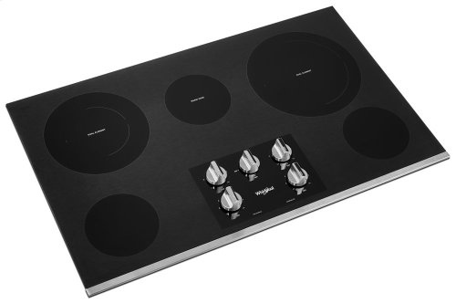 36-inch Electric Ceramic Glass Cooktop with Two Dual Radiant Elements