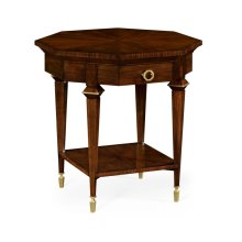 Octagonal Calista Lamp Table