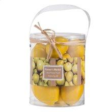 Faux Lemons-10 pieces