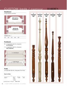 Traditional Arched Custom Bed Program