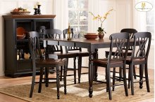7PC SET (Table with 6 Stools)