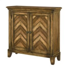 Hidden Treasures Chevron Cabinet
