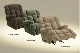 "Power Chaise Recl w/""Lay Flat"" Feature - Sage"