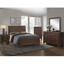 Farrow Natural Brown 4 Piece Queen Bedroom Set