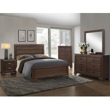 Farrow Natural Brown 4 Piece Queen Bedroom Set
