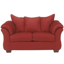 Signature Design by Ashley Darcy Loveseat in Salsa Microfiber [FSD-1109LS-RED-GG]
