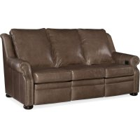 Bradington Young Pauley Sofa L & R Recline w/Articulating Headrest 942-90 Product Image