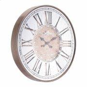 Hora Mundial Clock Antique Silver Product Image