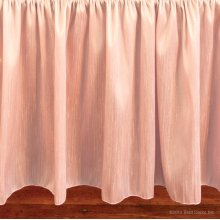 Bella Blush Crib Skirt