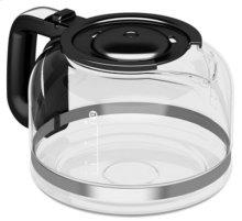 8 Cup Glass Carafe - Onyx Black