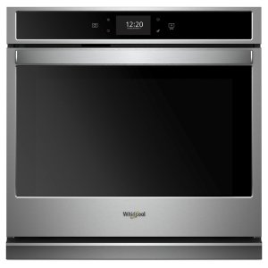 Whirlpool5.0 cu. ft. Smart Single Wall Oven with True Convection Cooking