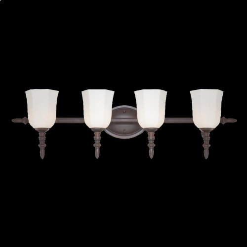 4-LIGHT BATHBAR - Oil Rubbed Bronze