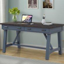 Americana Modern Denim 60 in. Writing Desk