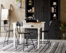 Taper Turned Gathering Table with Marston Stool